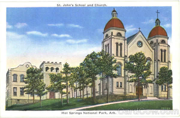 St. John's School And Church, Hot Springs National Park
