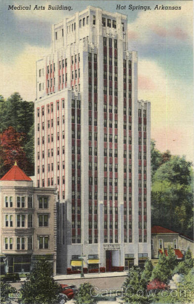 Medical Arts Building Hot Springs Arkansas
