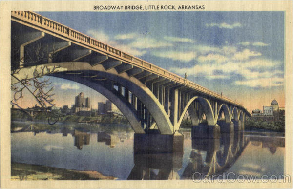 Broadway Bridge Little Rock Arkansas