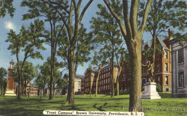 Front Campus, Brown University Providence Rhode Island