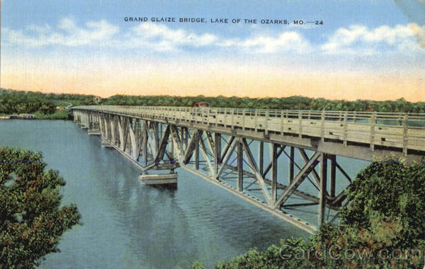 Grand Glaize Bridge Lake of the Ozarks Missouri