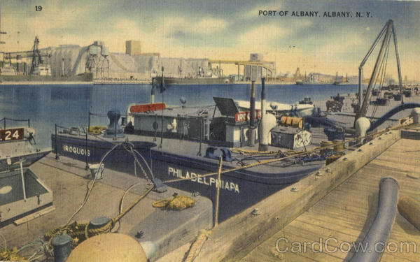 Port Of Albany New York