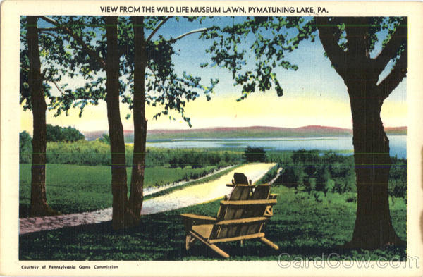 View From The Wild Life Museum Lawn Pymatuning Lake Pennsylvania