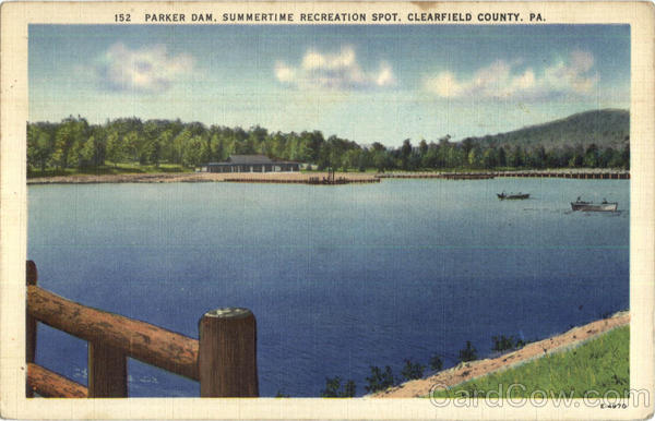 Parker Dam Clearfield County Pennsylvania