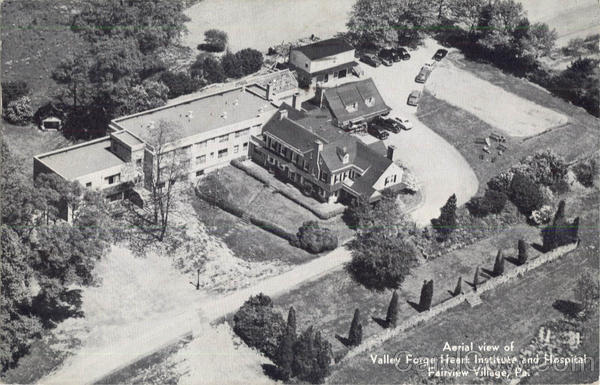 Aerial View Of Valley Forge Heart Institute And Hospital Fairview Village Pennsylvania
