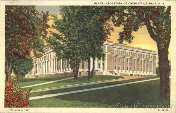 Baker Laboratory Of Chemistry Ithaca New York
