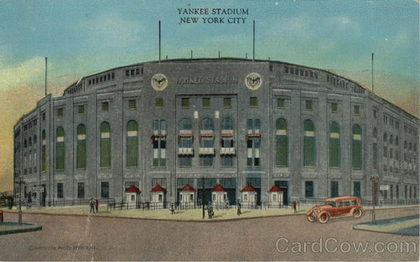 Yankee Stadium New York City Baseball