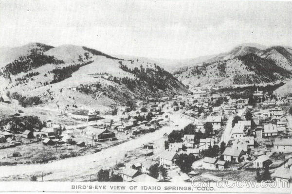 Bird's Eye View Of Idaho Springs Colorado
