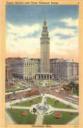 Public Square And Union Terminal Tower