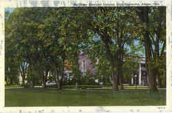 McDuffie Elms And Campus, Ohio University