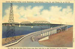 Lincoln Highway Bridge Postcard