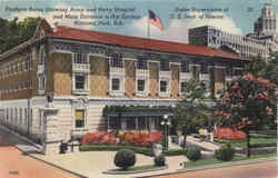 Fordyce Baths Showing Army And Navy Hospital And Main Entrance, Hot Springs National Park