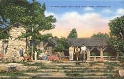 Mather Lodge, Petit Jean Park Postcard