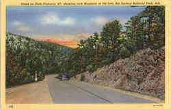 Scene On State Highway #7, Hot Springs National Park