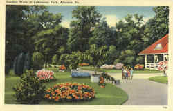 Garden Walk At Lakemont Park