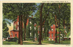 Cowles Hall, Elmira College Postcard