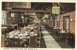 Roycroft Inn Dining Roam Postcard