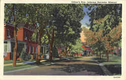 Officer's Row Postcard