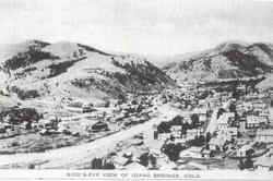 Bird's Eye View Of Idaho Springs Postcard