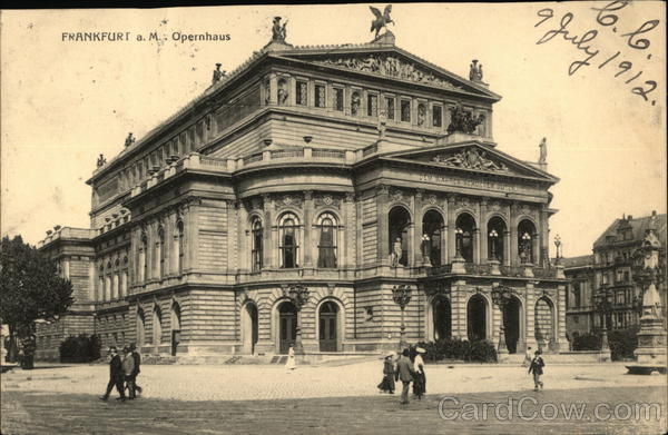 Opera House Frankfurt Germany