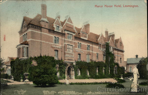 Manor House Hotel Leamington England