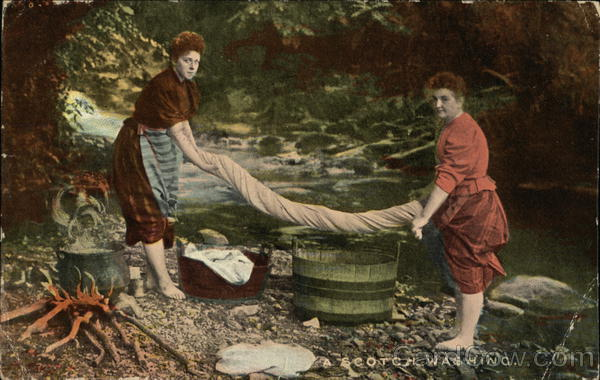 A Scotch Washing - Scotland