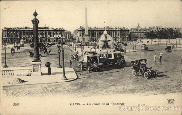 La Place de la Concorde Paris France