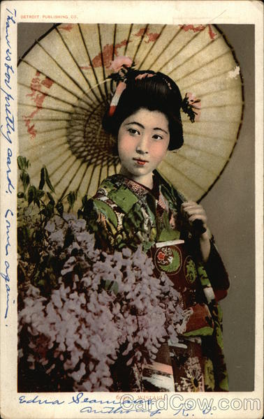 Wistakia - Japanese Geisha Asian
