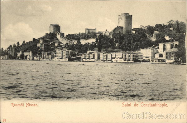Roumeli Hissar Constantinople (Istanbul) Turkey Greece, Turkey, Balkan States