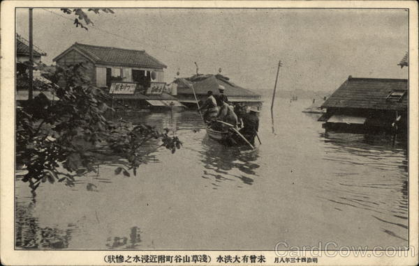 Japanese Flood View