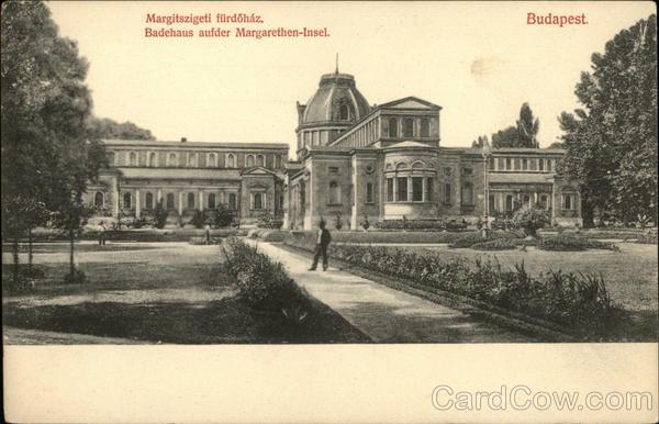 Margitszigeti furdohaz Budapest Czech Republic Eastern Europe