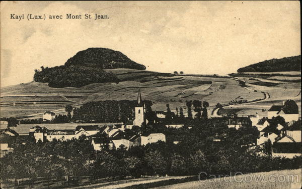 Kayl avec Mont St. Jean Luxembourg