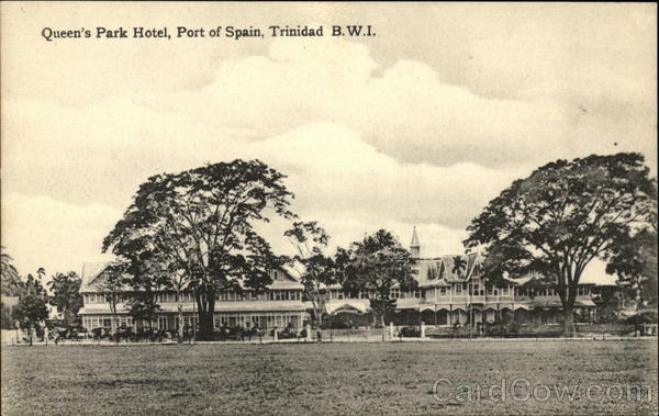 Queen's Park Hotel, Port of Spain Trinidad Caribbean Islands