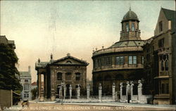 Clarendon Buildings and Sheldoonian Theatre Postcard