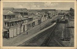Front Street, from Old Station