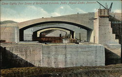 Three Eighty Foot Spans of Reinforced Concrete, Pedro Miguel Locks