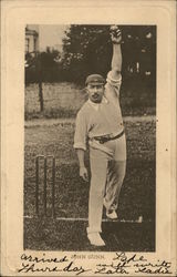 John Gunn - Cricket