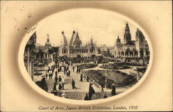 Court of Arts, Japan-British Exhibition, London 1910