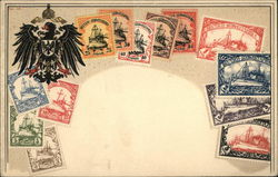 Deutsch-Sudwestafrika - Stamp Assortment and Seal