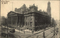 Royal Exchange Building Postcard