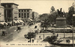 Opera Place and Statue of Ibrahim Pacha
