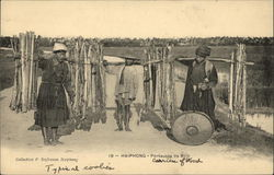Vietnamese Portreuses de Bois (Carriers of Wood)