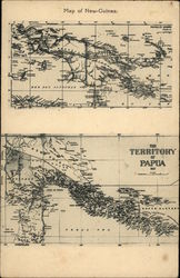 Map of New Guinea & Territory of Papua