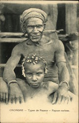 Types of Papaus - Papuan Natives