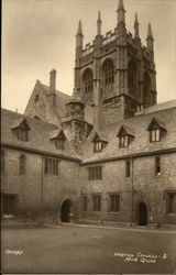 Merton College, Mob Quad Postcard