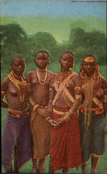 Native Maidens of a Jungle Village