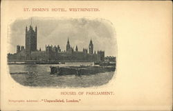 St. Ermins Hotel, Westminster; Houses of Parliament