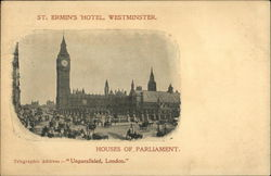 St. Ermin's Hotel, Westminster; The Houses of Parliament