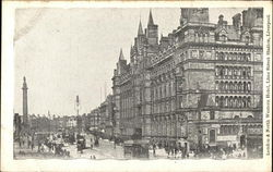 London and North Street Hotel, Lime Street Station Postcard
