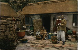 The Home of a Peasant with Family